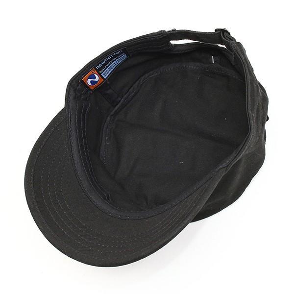 帽子 ワークキャップ newhattan ニューハッタン ミリタリーキャップ サイズ調整アジャスター付 コットン100% 男女兼用 全5色 USA 直輸入モデル 送料無料 6012|yukyuno-tabibito|05