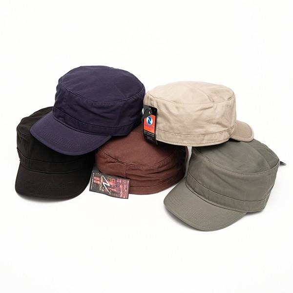 帽子 ワークキャップ newhattan  ニューハッタン アーミーキャップ  綿100% ジャストフィット 男女兼用 全5色 USA 直輸入モデル 送料無料 6001|yukyuno-tabibito