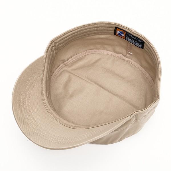 帽子 ワークキャップ newhattan  ニューハッタン アーミーキャップ  綿100% ジャストフィット 男女兼用 全5色 USA 直輸入モデル 送料無料 6001|yukyuno-tabibito|05
