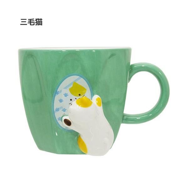 マグカップ ねこ コップ ネコ雑貨 ミラーマグ キッチン雑貨 食器 キッチン雑貨 かわいい おしゃれ キャット プレゼント ギフト|yume-bazar|02