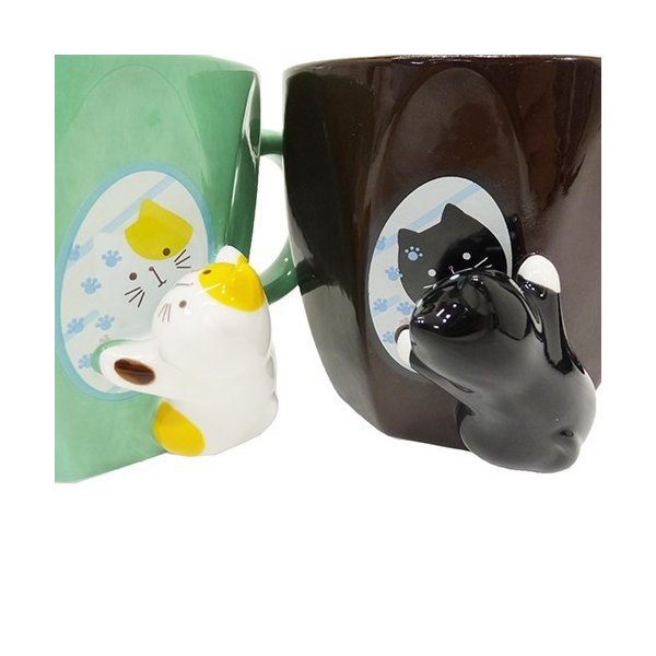 マグカップ ねこ コップ ネコ雑貨 ミラーマグ キッチン雑貨 食器 キッチン雑貨 かわいい おしゃれ キャット プレゼント ギフト|yume-bazar|04