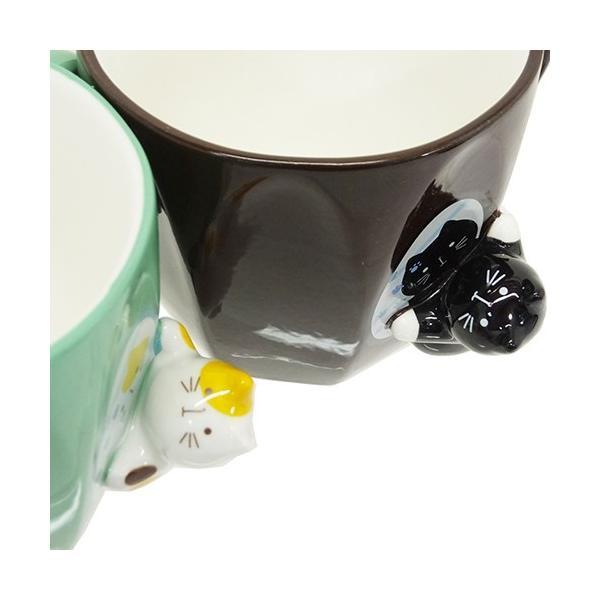 マグカップ ねこ コップ ネコ雑貨 ミラーマグ キッチン雑貨 食器 キッチン雑貨 かわいい おしゃれ キャット プレゼント ギフト|yume-bazar|06