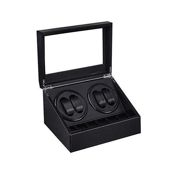 SOUKENGENワインディングマシーン(4本巻き+6本収納)ウォッチワインダー自動巻き時計ワインディングマシーン日本製マブチモ