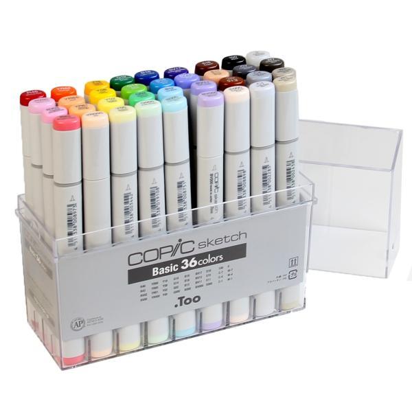 COPIC コピックスケッチ ベーシック36色セット|yumegazai