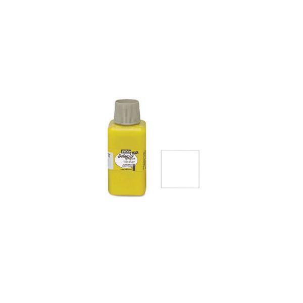 布用 絵具pebeo セタカラー 不透明色 250ml チタニウムホワイト|yumegazai
