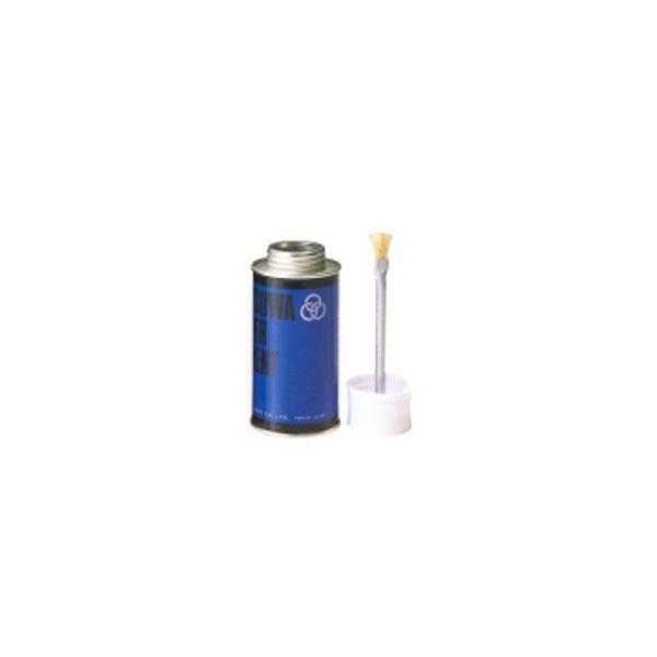 のり 接着剤 ミツワ ペーパーセメント (両面塗り 青缶) 丸缶 250cc