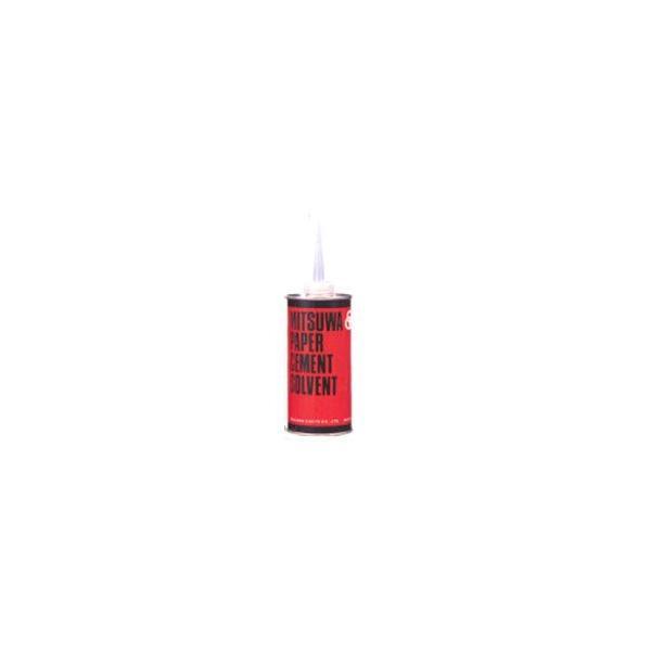 のり 接着剤 ミツワ ペーパーセメント溶解液 ソルベント 丸缶 280ml