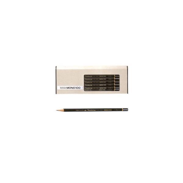 トンボ鉛筆 鉛筆 MONO 1ダース MONO-100 6B