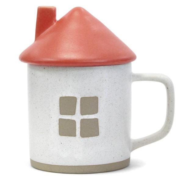 マグカップ お家マグ レッド