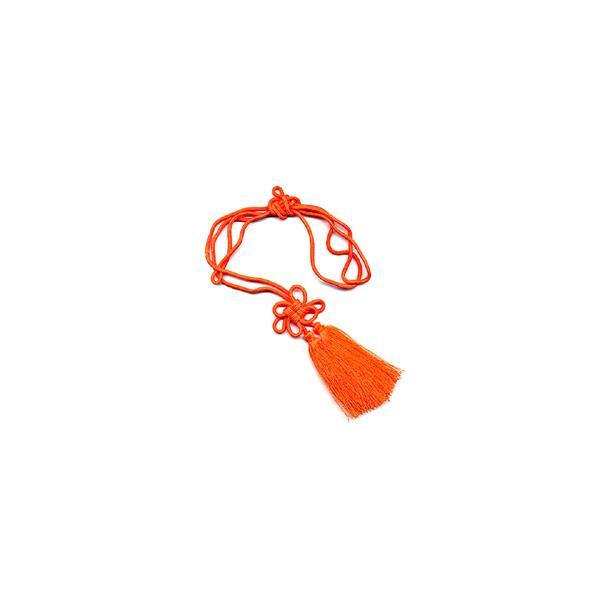 房付紐 千成瓢箪用 花結 橙|yumegazai