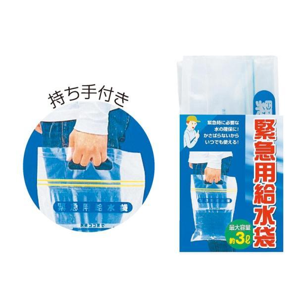 Artec 緊急用 給水袋 3L マチ付