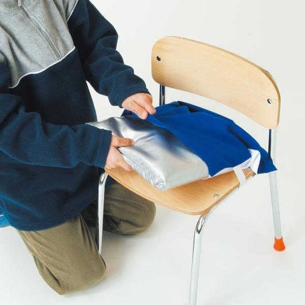 Artec 子供用 防災ずきん 青 クッションカバー付き