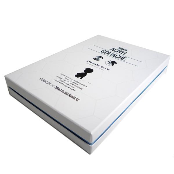 ターナー アクリルガッシュ×エヴァンゲリオン アヤナミブルー 40ml 3色セット|yumegazai|05