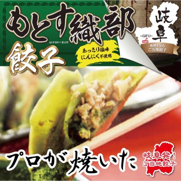 もとす織部餃子 10個入り(180g) 岐阜 餃子 お取り寄せ 冷凍|yumegyoza