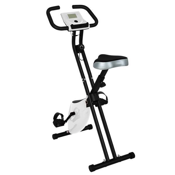 フィットネスバイクエアロバイクBTM1年安心保証スピンバイク折りたたみダイエット器具家庭用健康器具ルームバイク折り畳み有酸素運動