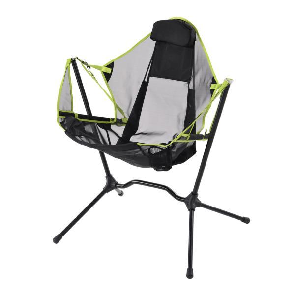 アウトドアチェア スウィング ハンモックキャンプ椅子 キャンプチェア 軽量 折りたたみ椅子 アウトドア チェア コンパクト アルミ キャンプ 椅子