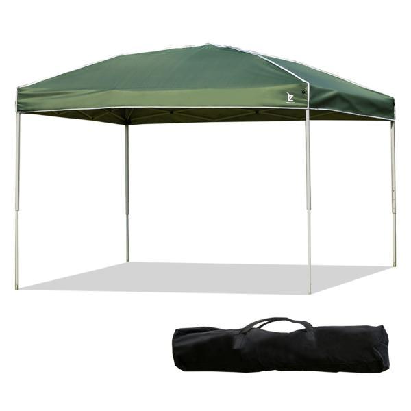 タープテント 3m ワンタッチタープテント 簡単 大型 軽量 日よけ 日除け UVカット 防水 おしゃれ アウトドア レジャー キャンプ バーベキュー 1年保証