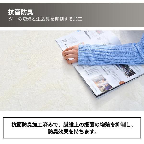 ラグ ラグマット 低反発 おしゃれ 洗える 2畳 200x200cm カーペットラグ 安い 厚手 ラグ  softsea|yumeka|10