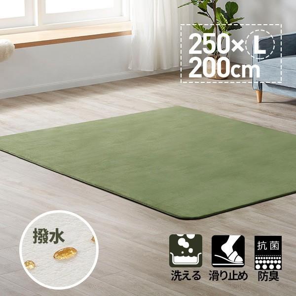 ラグ ラグマット ラグ 洗える おしゃれ 北欧 3畳 洗える カーペット 200X250 ホットカーペット対応 シャギーラグ top-4078|yumeka