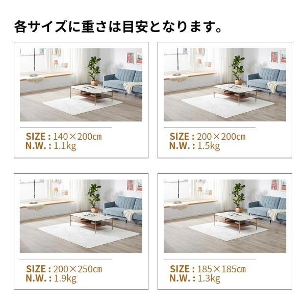 ラグ ラグマット ラグ 洗える おしゃれ 北欧 3畳 洗える カーペット 200X250 ホットカーペット対応 シャギーラグ top-4078|yumeka|10