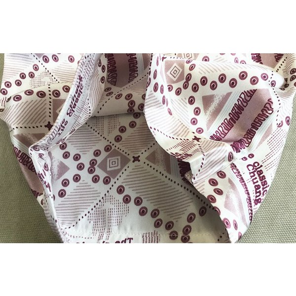 シルク100% シルクパジャマ ミックス柄 メンズ ライトグレー エンジ 長袖 紳士 ドット 格子 絹 上下セット 安眠 ナイトウェア ルームウェア 送料無料|yumekairo|10