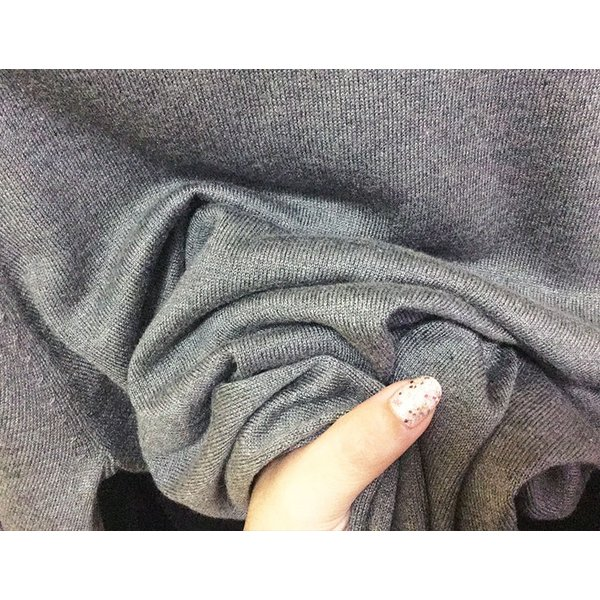 シルクカシミヤ ニット プルオーバー セーター クルーネック シンプル ニットソー ゆるシルエット 5色 メール便送料無料|yumekairo|14