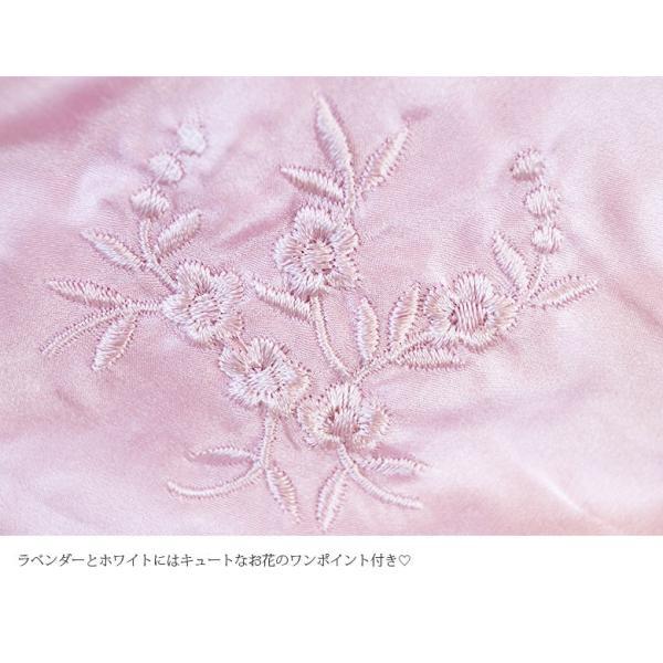 母の日ギフト ショーツ シルクショーツ 絹100% 3枚組セット スタンダード ホワイト ラベンダー ブラック 新色追加 ホワイトデー メール便 送料無料|yumekairo|10