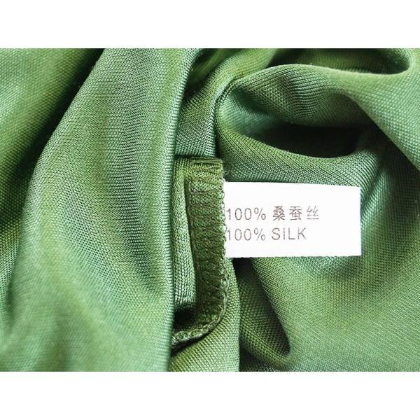 母の日ギフト シルク シンプル タンクトップ 絹100% レディース 天然素材で肌に優しい 紫外線対策に! カラバリ5色 ギフト メール便 送料無料|yumekairo|11