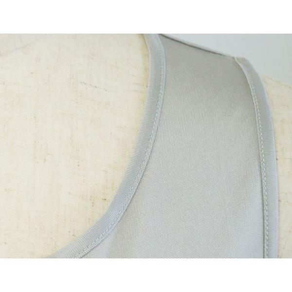 シルク シンプル タンクトップ 絹100% レディース 天然素材で肌に優しい 紫外線対策に! カラバリ5色 ギフト メール便 送料無料|yumekairo|10