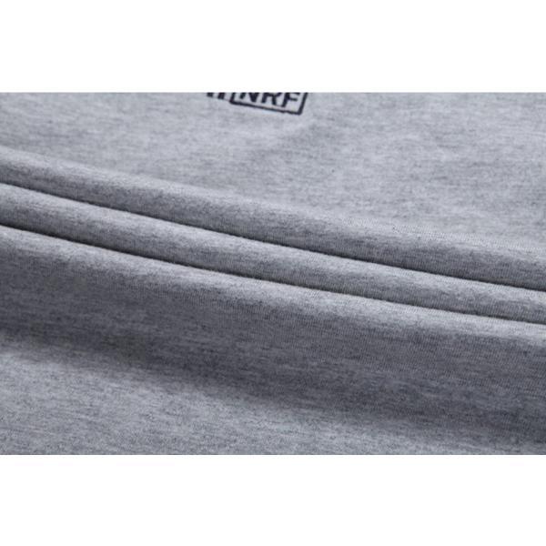 Tシャツ メンズ アメカジ 半袖 刺繍Tシャツ ロゴT カットソー クルーネック メンズTシャツ|yumekakaku|06