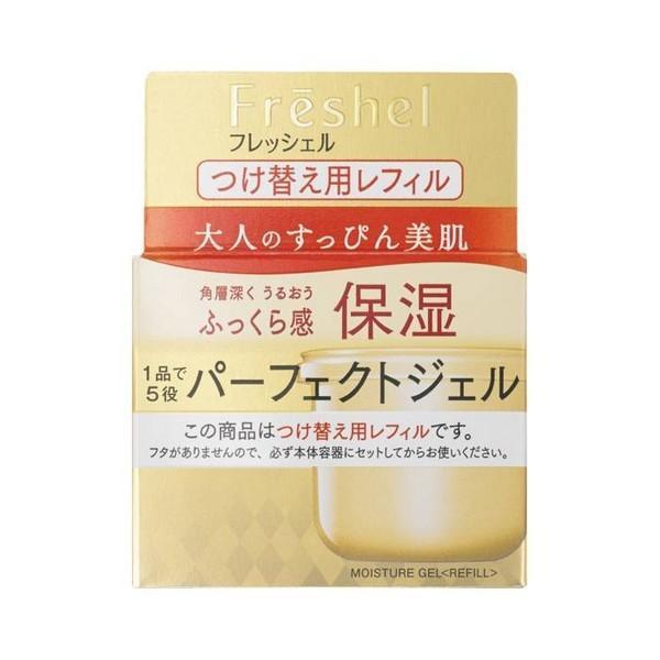 《カネボウ》 フレッシェル アクアモイスチャージェル モイストN つけ替え用レフィル 80g (保湿ジェルクリーム)|yumekurage