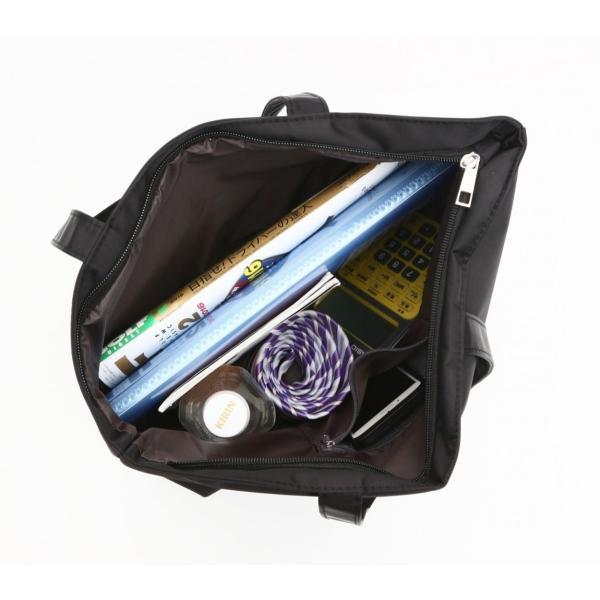 【メール便対応】A4ファイル対応 畳める サブバッグ 軽量 就活バッグ 補助バッグ トートバッグ ビジネスバッグ A4 B5 冠婚葬祭  『バージョンB』|yumemiru-ehon|10