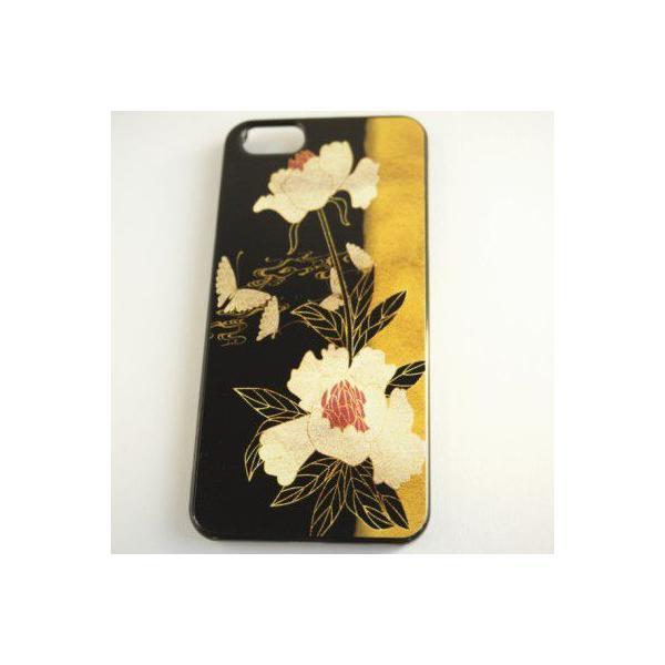 iPhone5/5s 和柄ケース No,3 花と蝶 【メール便対応】和のデザインが美しい iPhone専用 スマホカバー|yumemiru-ehon|02