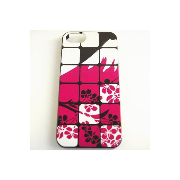 iPhone5/5s 和柄ケース No,18 富士と桜 【メール便対応】和のデザインが美しい iPhone専用 スマホカバー|yumemiru-ehon|02