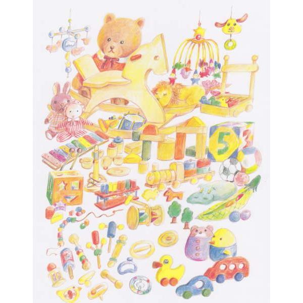オーダーメイドの手作り絵本 おたんじょうびのほん(大人向き) メール便送料無料 yumemiru-ehon 02