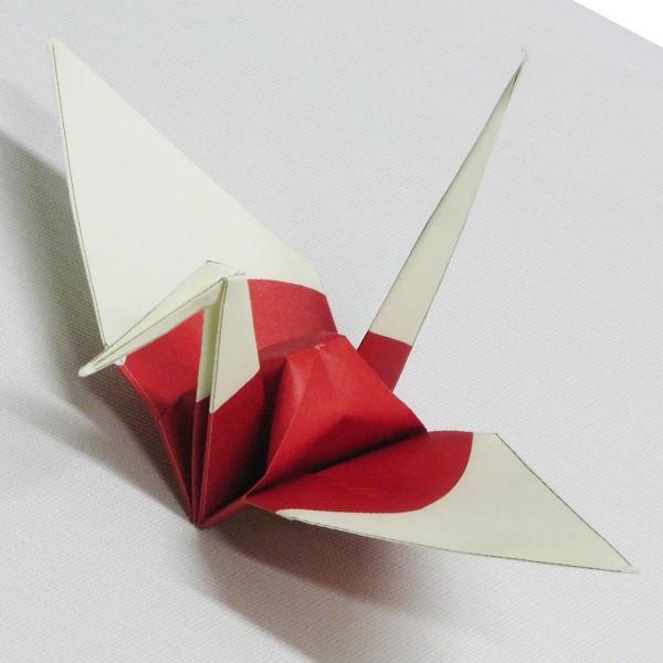国旗の折り紙 日本