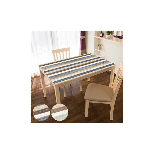 TABLECLOTH DECORATION テーブルデコレーション 貼る!テーブルシート 90cm×150cm スクラップウッド (APIs)