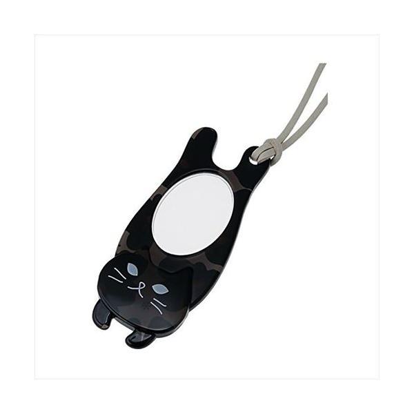 ペンダント型ルーペ 猫(ニャンコ)シリーズ ルーペ伸ニャン PR16-2-CBL 072012 (APIs)