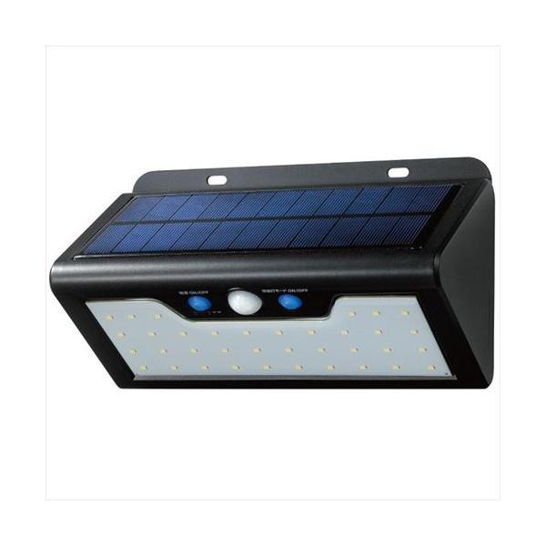 ELPA(エルパ) 屋外用 LEDセンサーウォールライト ソーラー発電式 電球色 ESL-K411SL(L) (APIs)