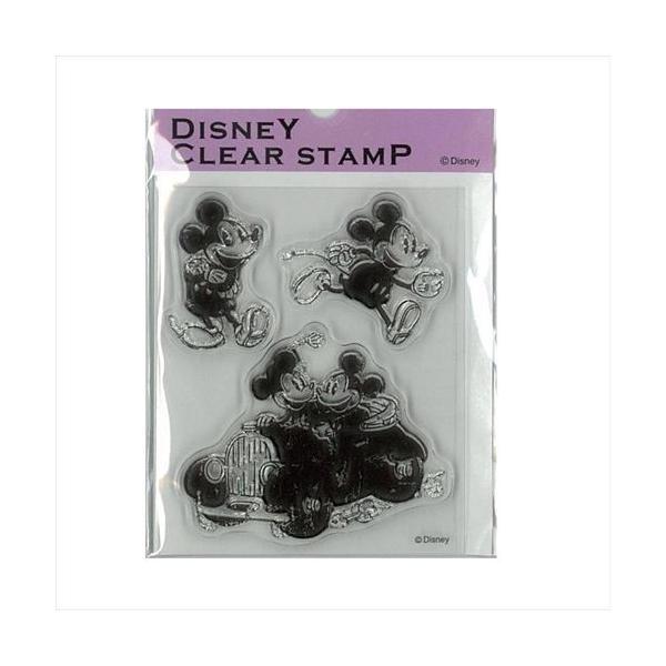 Paper Intelligence Disney(ディズニー) クラシカルスタンプ ミッキー&ミニー2 STP-D0011 4101405 (APIs)