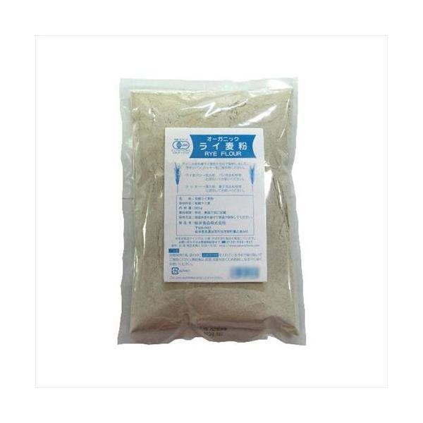 桜井食品 有機ライ麦粉 500g×24個 (APIs) (軽税)