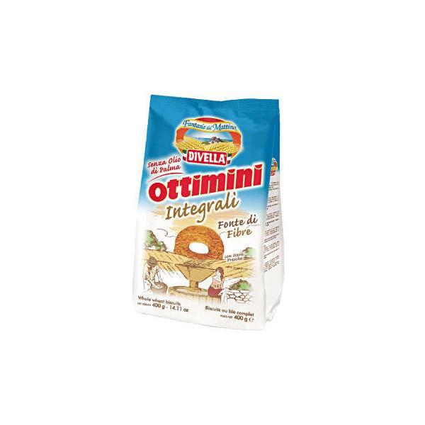 DIVELLA ディヴエッラ オッティーミニ・インテグラーリ(全粒粉) 400g 18袋セット 606-909 (APIs) (軽税)
