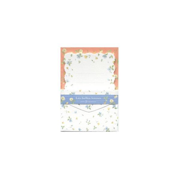 クリエイトジー ミニミニレターセット 青花柄 CGMML1008 6セット (APIs)