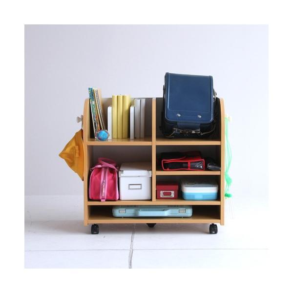 キッズランドセルラックワイド キッズ ランドセルラック ワイド ランドセル置き 本棚 収納 おしゃれ 人気