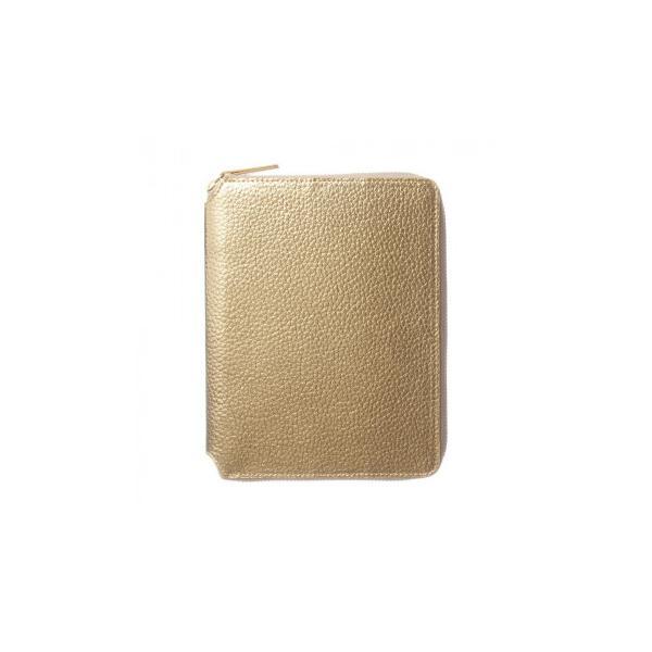 メタリックB6ラウンドファスナーカバー ゴールド LDC02-270GD (APIs)