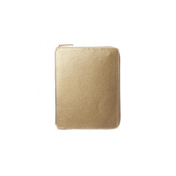メタリックA5ラウンドファスナーカバー ゴールド LDC03-370GD (APIs)