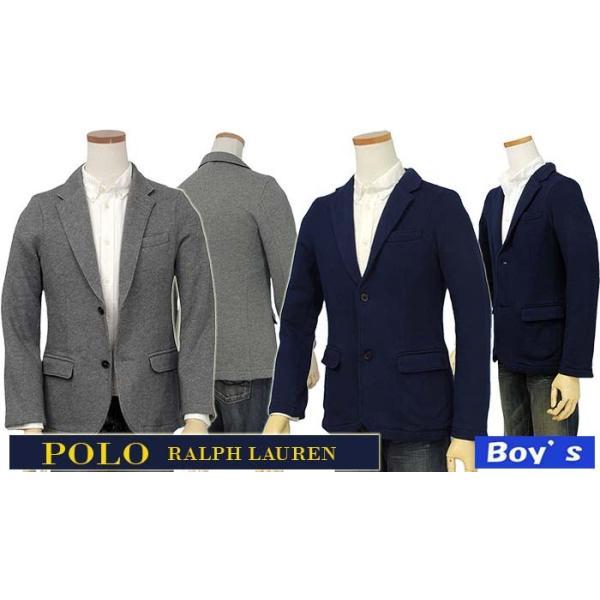ラルフローレン ブレザー スウエット生地 メンズ POLO by Ralph Lauren Boy's|yumesse|02