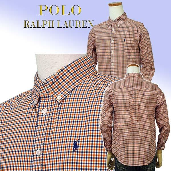 ラルフローレン ボーイズ マルチチェック長袖シャツ ボタンダウンシャツ POLO by Ralph Lauren Boy's|yumesse|05