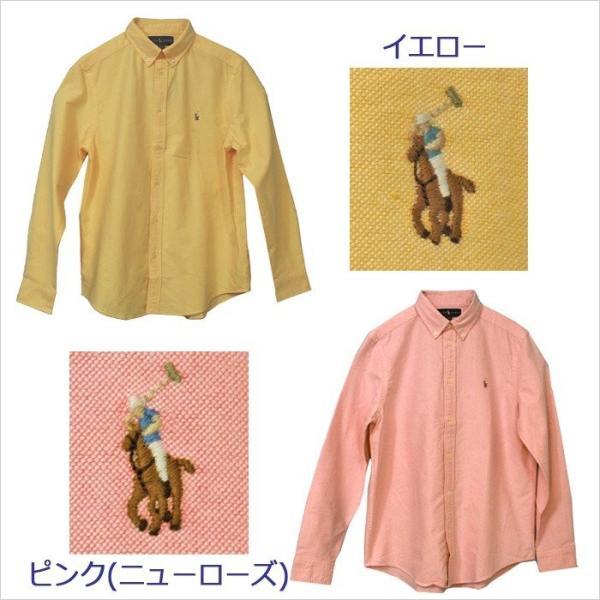 ポロ ラルフローレン オックスフォードシャツ 長袖 メンズ レディース カジュアルシャツ POLO by Ralph Lauren Boy's (#323677133 #323677177 ) yumesse 07