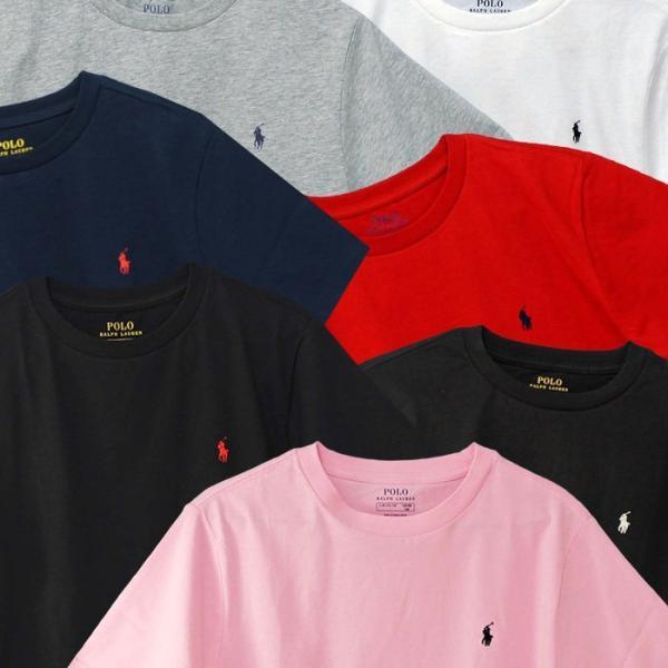 ラルフローレン Tシャツ 半袖 メンズ レディース ワンポイント刺繍 綿100% 定番シンプルTシャツ POLO Ralph Lauren Boy's 323674984|yumesse|03